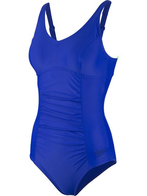 speedo Vivienne Clipback Swimsuit Women, blue